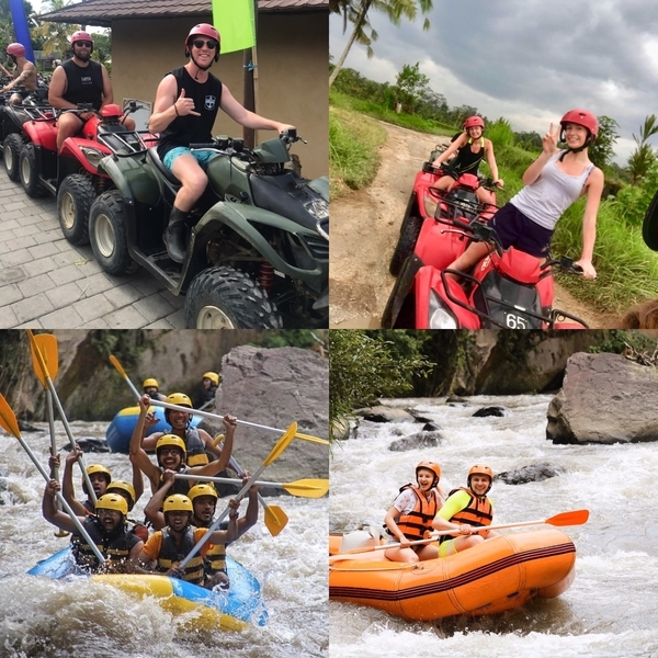 Ayung River Rafting and ATV Ride