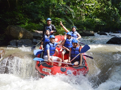 Ayung White Water Rafting